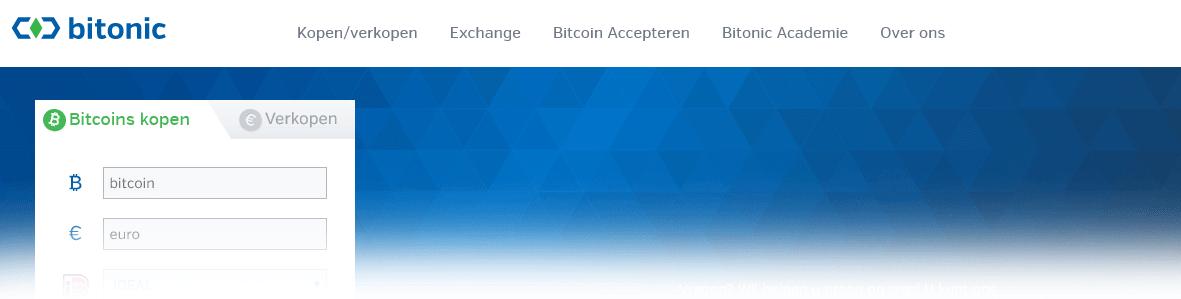 Bitcoins kopen bij Bitonic