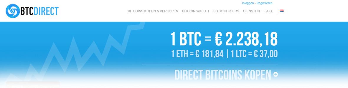 Bitcoins kopen bij BTCdirect